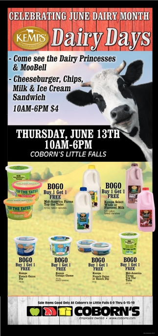 Celebrating June Dairy Month
