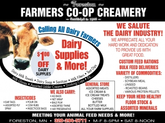 Calling All Dairy Farmers