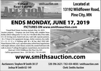 Timed Real Estate Auction