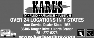 Your Service Dealer Since 1956
