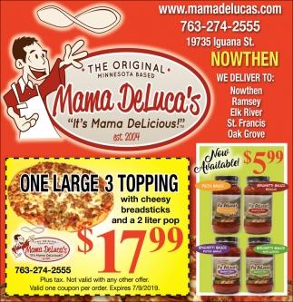 It's Mama DeLicious!