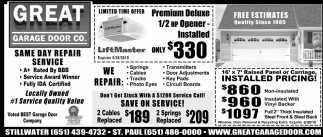 Same Day Repair Service