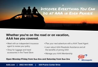 Discover Everything You Can Do at AAA in Eden Prairie