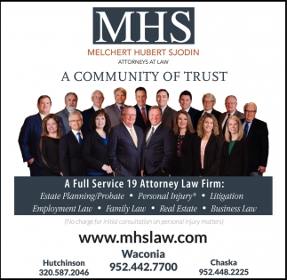 A Full Service 19 Attorney Law Firm