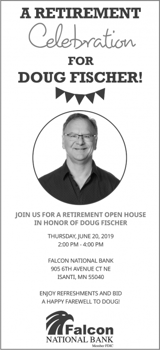 A Retirement Celebration for Doug Fischer!