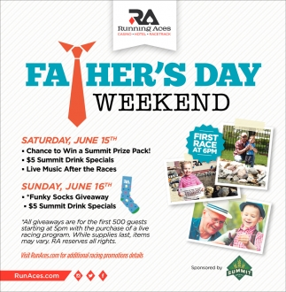 Father's Day Weekend