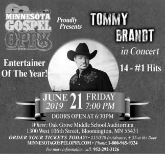 Tommy Brandt in Concert