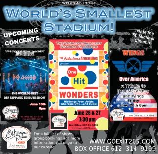 World's Smallest Stadium!