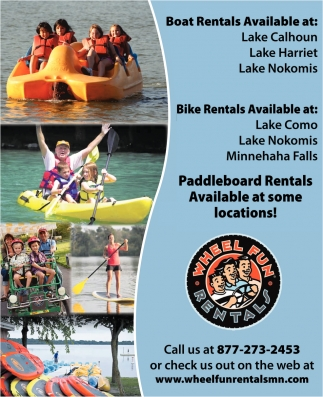 Paddleboard Rentals Available at Some Locations!