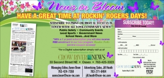 News in Bloom
