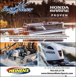 Honda Marine Proven