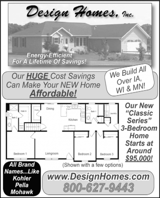 Energy-Efficient for a Lifetime of Savings!