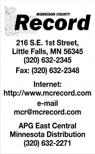 Morrison County Record