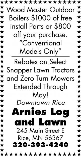 Arnies Log & Lawn