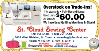 Overstock On Trade-Ins!
