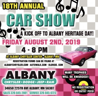 18th Annual Car Show