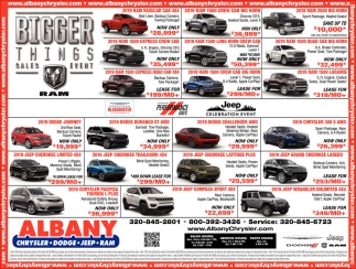 Bigger Things Sales Event