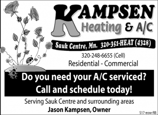 Do You Need Your A/C Serviced? Call and Schedule Today!