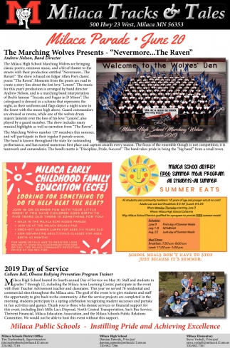 The Marching Wolves Presents -