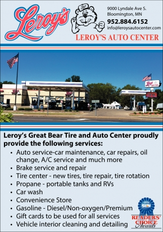Leroy's Auto Center