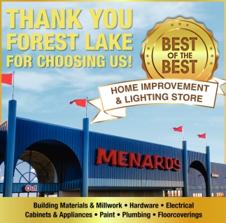 Thank You Forest Lake for Choosing Us!