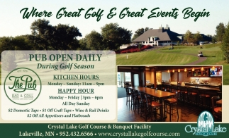 Where Great Golft & Great Events Begin