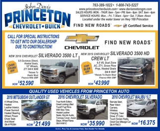 Quality Used Vehicles at Princeton Auto