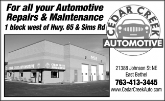 For All Your Automotive Repairs & Maintenance