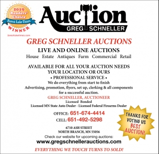Live and Online Auctions