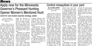 Control Mosquitoes in Your Yard