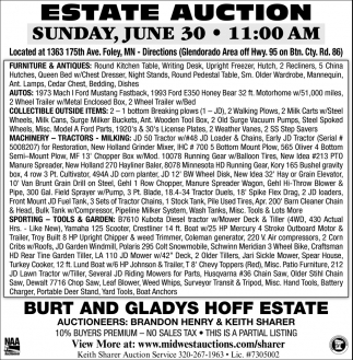 Estate Auction
