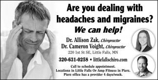 Are You Dealing with Headaches and Migraines? We Can Help!