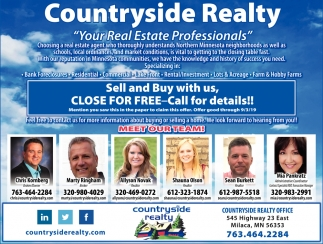 Your Real Estate Professionals