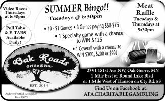 Summer Bingo!