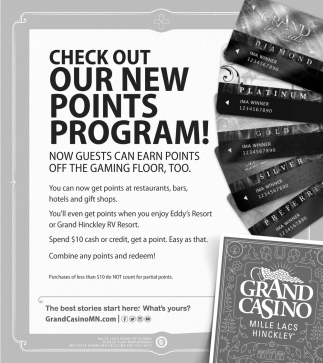 Check Out Our New Points Program!