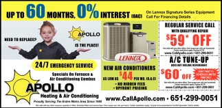 Specials On Furnace & Air Conditioning Combos