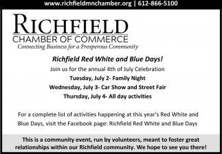Richfield Red White and Blue Days!