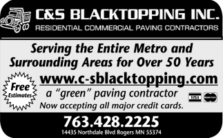 Residential and Commercial Paving Contractors