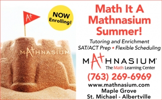 Math it a Mathnasium Summer!