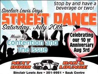 Sinclair Lewis Days Street Dance