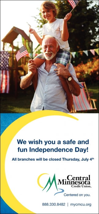 We Wish You a Safe and Fun Independence Day!