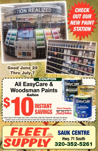 Check Out Our New Paint Station