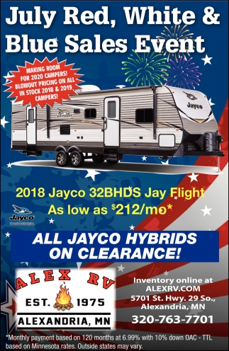 All Jayco Hybrids On Clearance!
