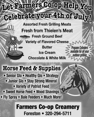 Let Farmers Co-op Help You Celebrate Your 4th of July!