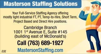 Your Full-Service Staffing Agency