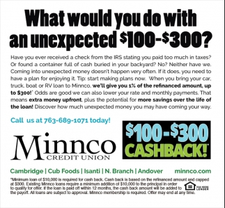 What Would You Do with an Unexpected $100-$300?