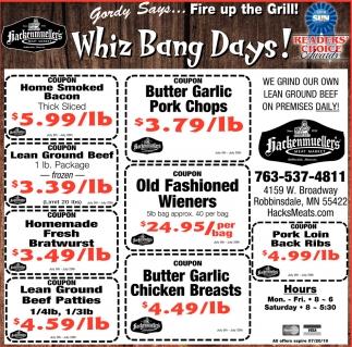 Whiz Bang Days!