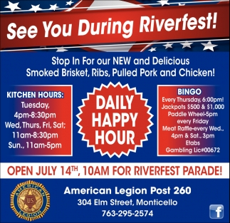 See You During Riverfest!