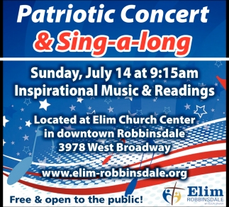 Patriotic Concert & Sing-a-Long