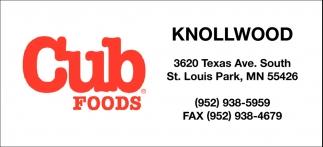 Cub Foods Knollwood